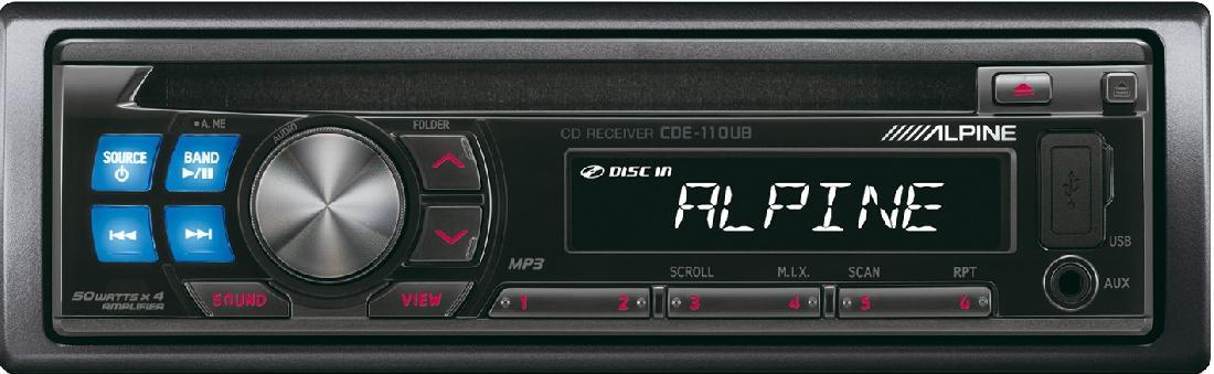 Alpine CDE-110UB