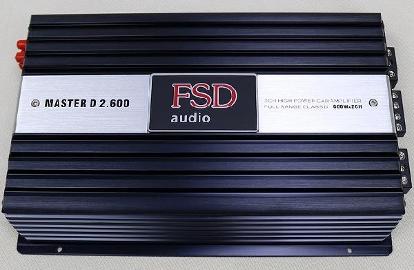 Усилитель FSD audio MASTER D2.600