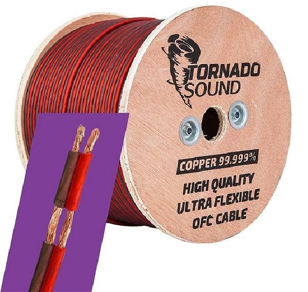 Акустический кабель KICX Tornado Sound OFC 14100RB