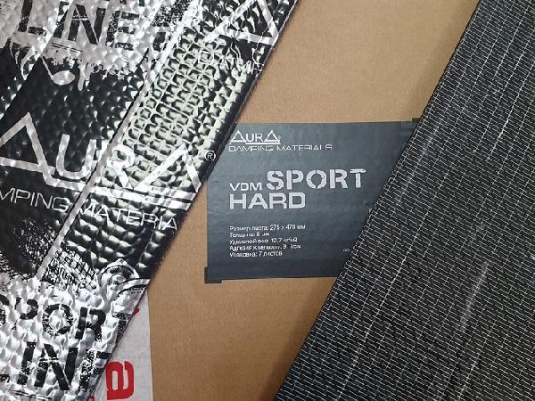 Вибродемфирующий материал AurA VDM-SPORT HARD