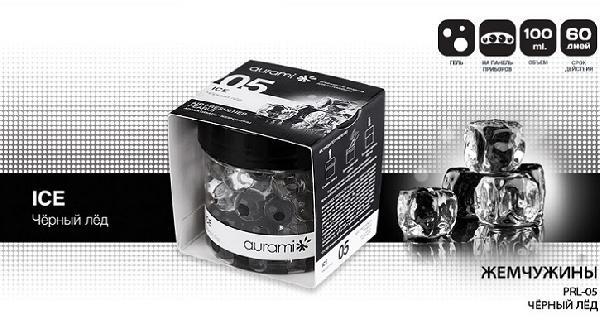 Ароматизатор AURAMI PRL-05 Черный лед