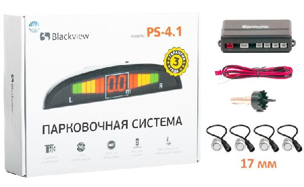 Парктроник Blackview PS 4.1-18 Silver