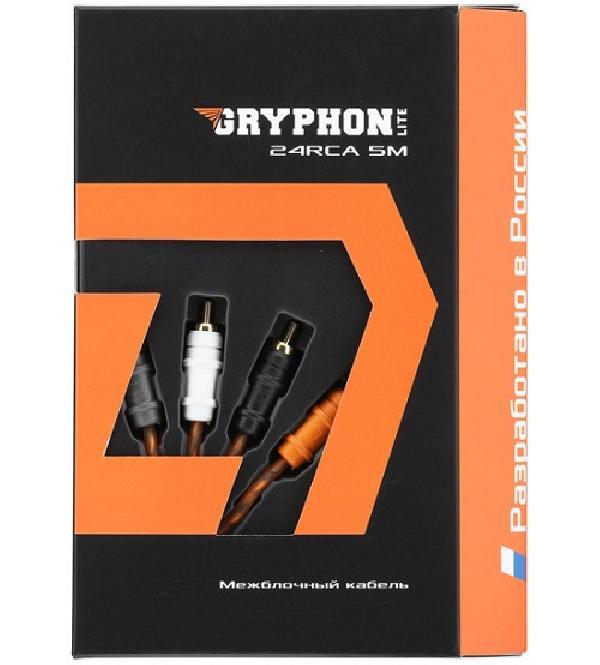 Межблочный кабель DL Audio Gryphon Lite 24RCA 5M