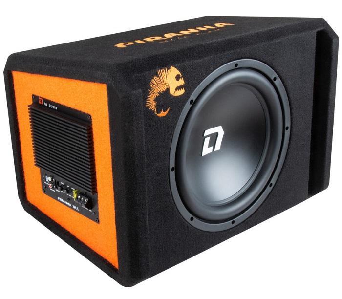 DL Audio Piranha 12A Black