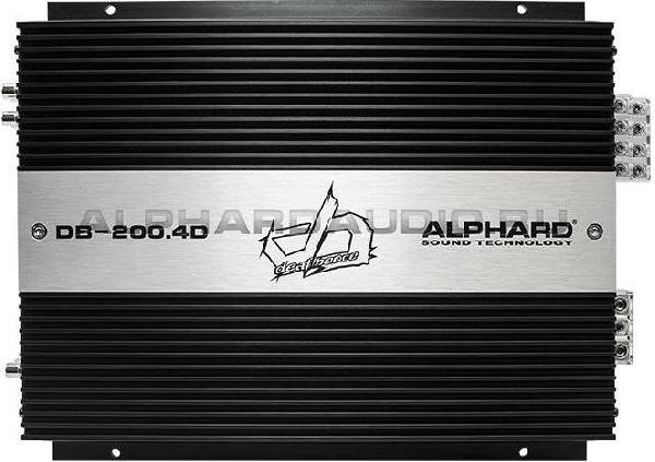 фото: Alphard Deaf Bonce DB-200.4D
