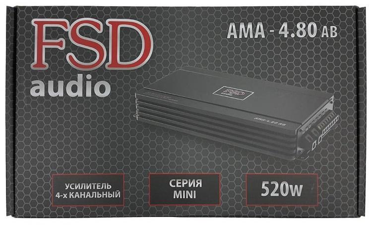 Автомобильный усилитель FSD Audio Mini AMA 4.80 AB - фото 3