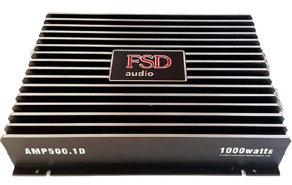 фото: FSD audio AMP 500.1D