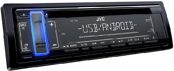 Автомагнитола JVC KD-T401