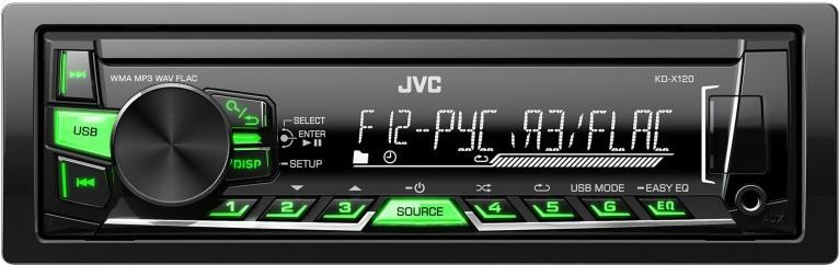 JVC KD-X120EE