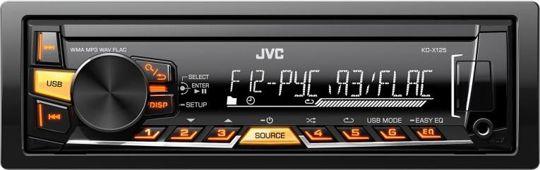 JVC KD-X125EED