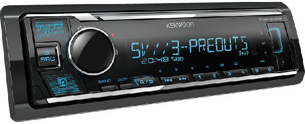 Автомагнитола Kenwood KMM-BT356