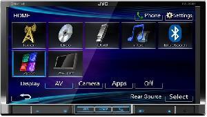 JVC KW-V40 BTEE