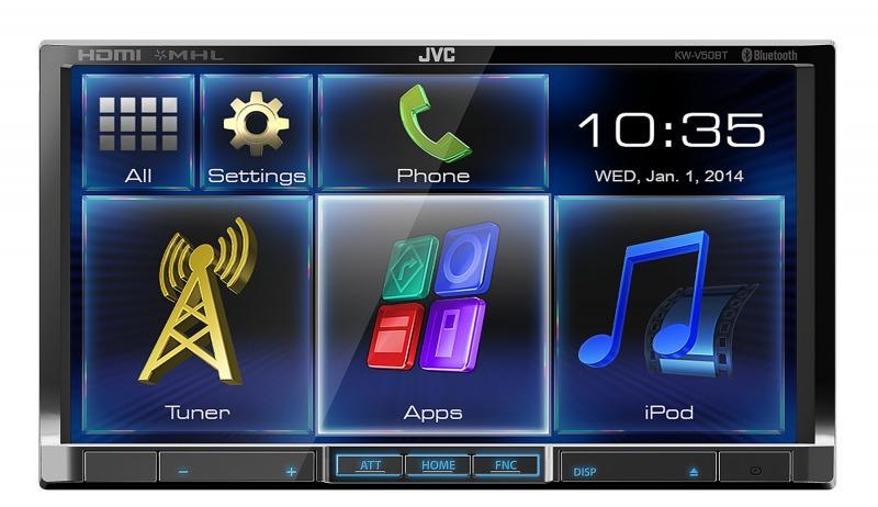 JVC KW-V50 BTEE