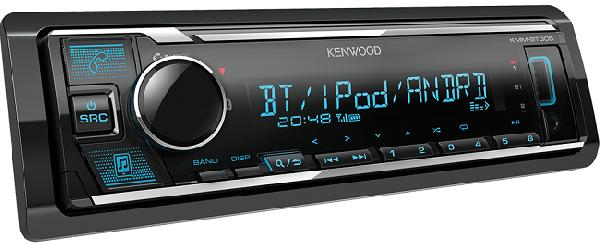 Фото Автомагнитола Kenwood KMM-BT305