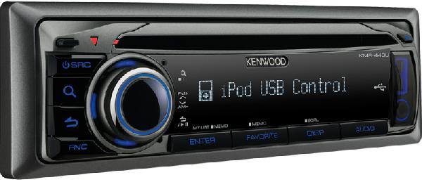 Морская магнитола Kenwood KMR-440U