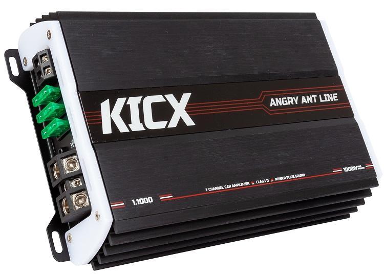 KICX Angry Ant 1.1000 | Купить 1-канальные в магазине BUY-SOUND, цена на Усилитель KICX Angry Ant 1.1000 | 9231