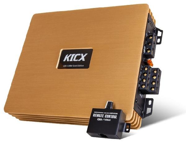 Усилитель KICX QS 4.95М Gold Edition