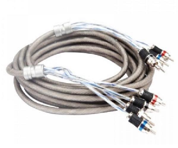 Межблочный кабель KICX RCA-04 PRO (4.9m)
