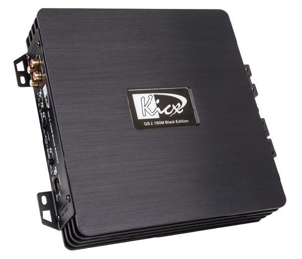 фото: KICX QS 2.160M Black Edition