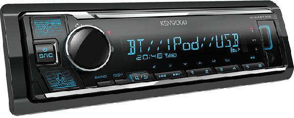Автомагнитола Kenwood KMM-BT306