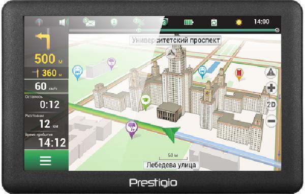 фото: PRESTIGIO GPS GeoVision 5066