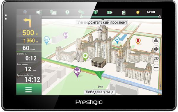 фото: PRESTIGIO GPS GeoVision 5067