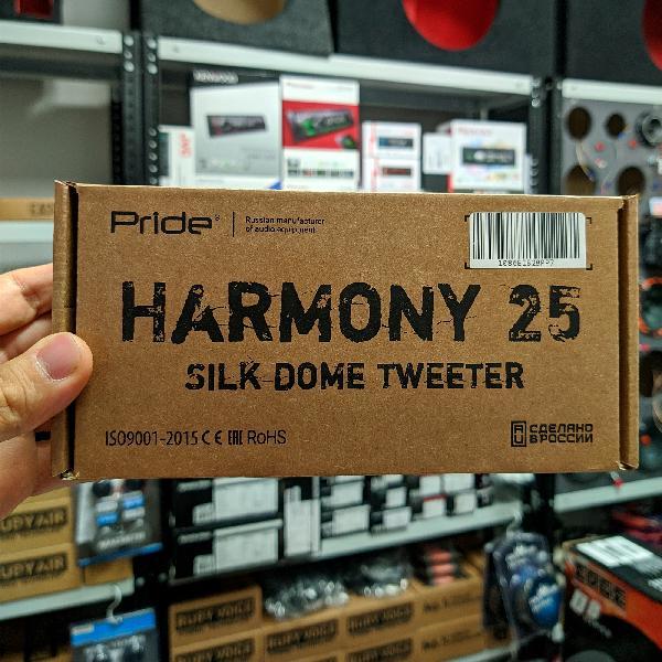 Твитер Pride Harmony 25C
