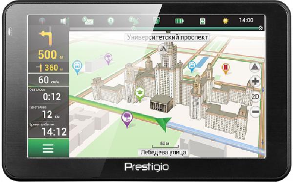 фото: PRESTIGIO GPS GeoVision 5068