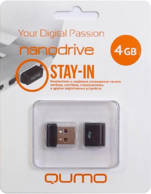 Модуль памяти Qumo Nano USB 4GB