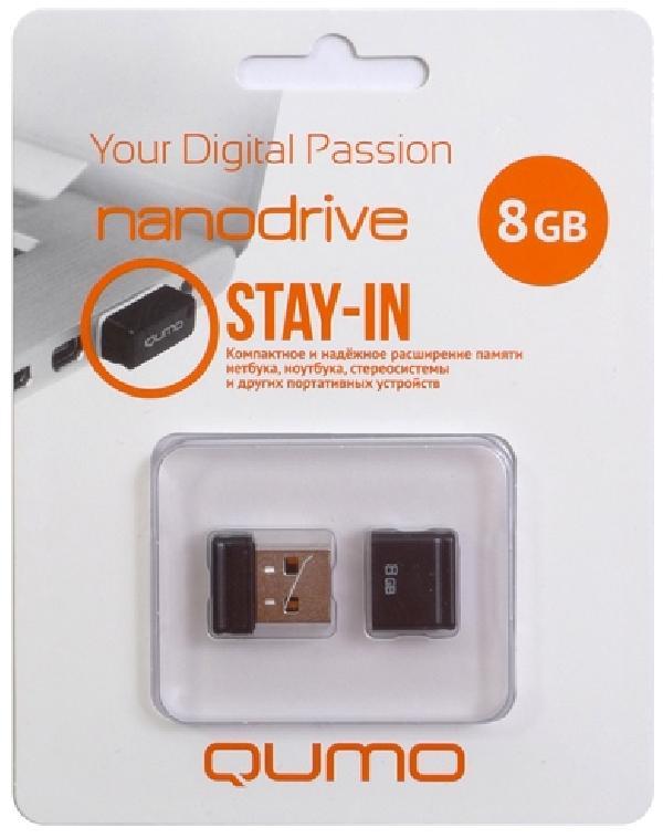 Модуль памяти Qumo Nano USB 8GB