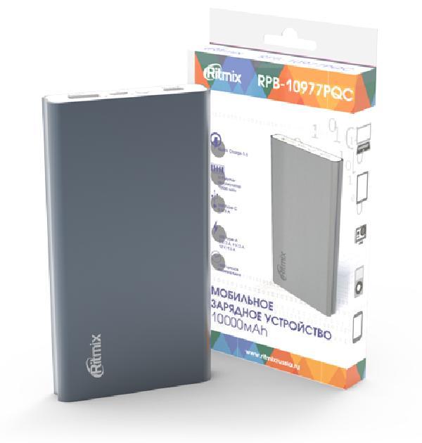 Зарядное устройство Ritmix RPB-10977PQC