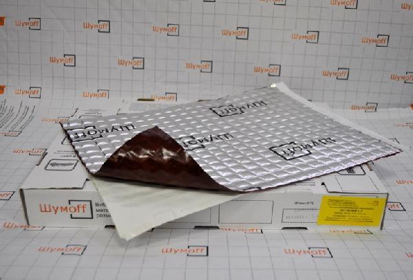 Вибродемфирующий материал Шумофф L3 (маленький лист)