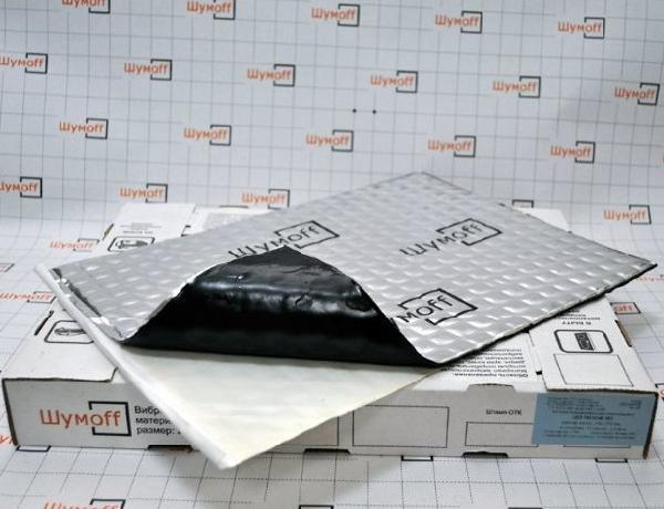 Вибродемфирующий материал Шумофф М3 (маленький лист)