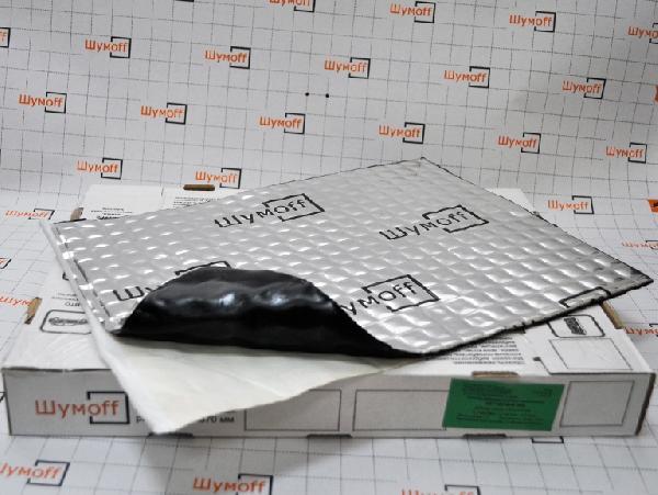 Вибродемфирующий материал Шумофф М4 (маленький лист)
