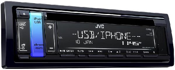 Автомагнитола JVC KD-R691