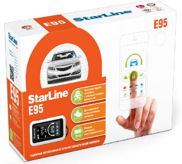 Сигнализация StarLine E95BT 2CAN-LIN