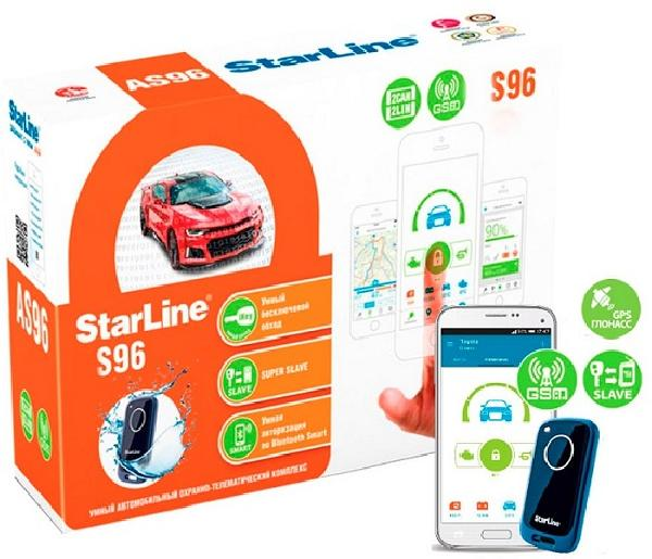Сигнализация StarLine S96 BT GSM/GPS 2CAN-2LIN