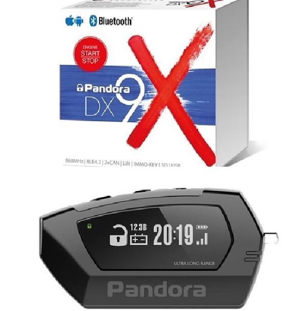 Сигнализация Pandora DX 9 X