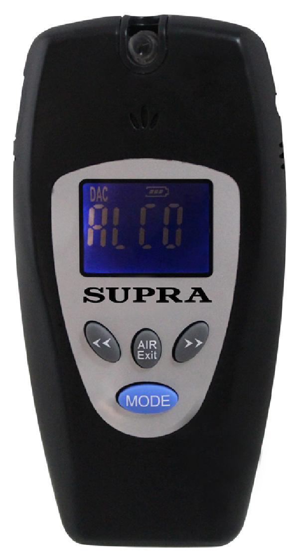 Алкотестер Supra ATS 301 black