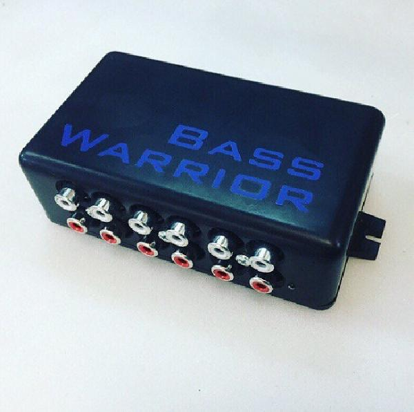 Конвертор уровня Bass Warrior RCA HUB 5