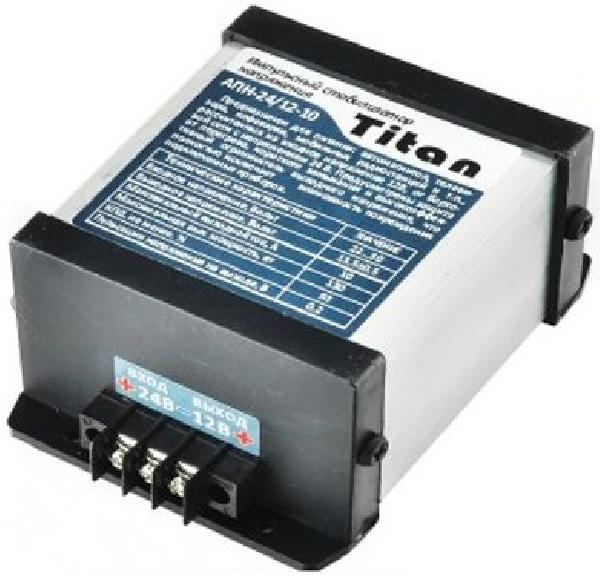 Автомобильный инвертор Titan 24-12 10A